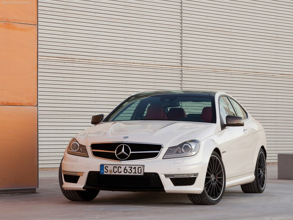 the Mercedes-Benz C63 AMG